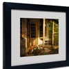 Lois Bryan 'The Old General Store' Matted Black Framed Art