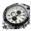 CURREN Stainless Steel Watch Men Business Casual Quartz Watches