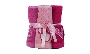 Disney's Minnie Mouse Washcloth Set (6-Pack)