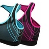 2 Pack Women's Seamless Padded Sports Bra Workout Yoga Bras