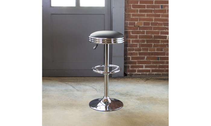 Swell Black Retro Soda Style Bar Stool Groupon Ocoug Best Dining Table And Chair Ideas Images Ocougorg