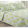 Bella Reversible Printed Quilt Set (3-Piece)