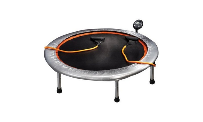 gold s gym circuit trainer 36 mini trampoline groupon