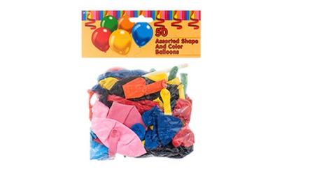 Toy Balloon 1/4lb 50ct Asst Size aeeb690e-b253-4c59-a3f5-9ab71445fd56