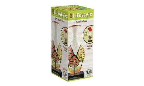 Lifestyle 3D Puzzle Vase - Spring Trees: 160 Pcs 06f87520-99a4-419b-86aa-f432c39f0651