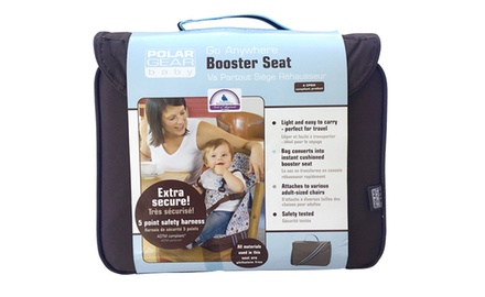 Baby Polar Gear Go Anywhere 5 Point Harness Booster Seat Set with Place Mat