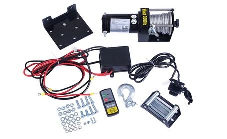 3000lbs 12V Electric Recovery Winch Truck SUV Wireless Remote Control db86ec9d-2dec-4920-a7ac-7d8e7730e108