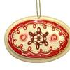 "2.5"" Decorative Oval Cake Pan Christmas Ornament"