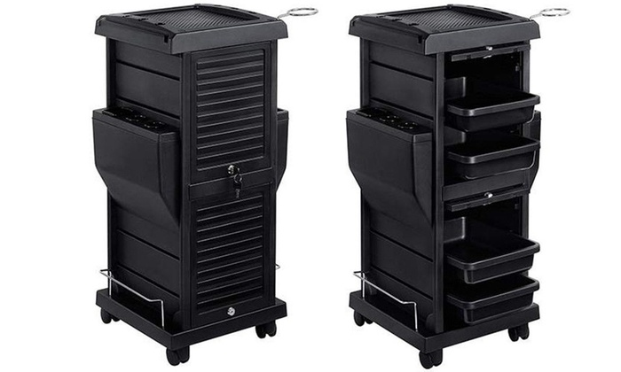 Trolley Drawer Storage Bedroom Office Beauty Salon Hairdressers 10 Drawers Multi