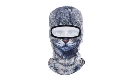 3D Animal Cycling Bike Outdoor Sports Ultra Thin Balaclava, Face Mask