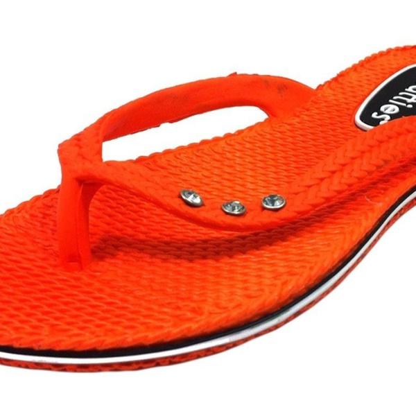 38d8462c9 Chatties Women s Mini Wedge Flip Flop with Rhinestones