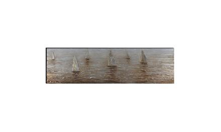 Carolines Treasures JMK1077PLMT Sailing Lessons Sailboats Fabric Placemat Multicolor