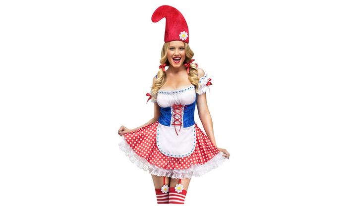 Women's Sexy Garden Gnome Costume