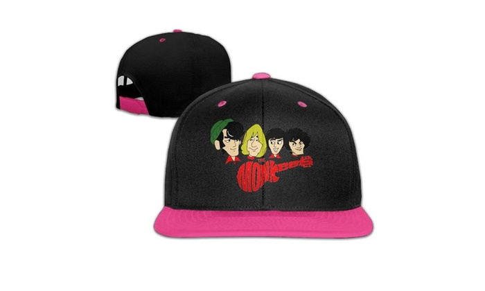 16f176541 Pop Rock Band The Monkees Contrast Hip Hop Baseball Caps Hats   Groupon