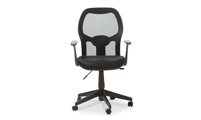 kurber ergonomic mesh office chair groupon
