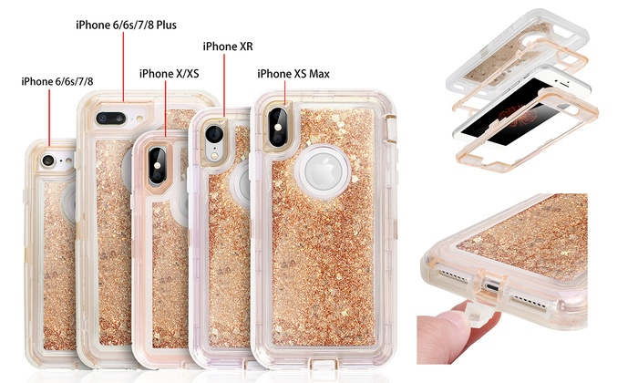 IPhone X Quicksand Case For IPhone 6
