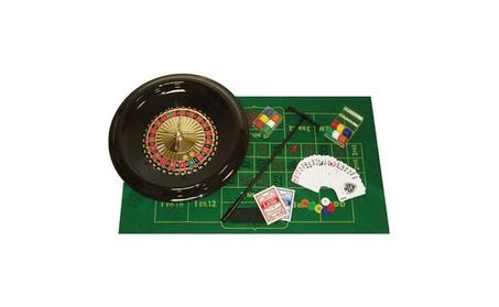 """Poker 16"""" Deluxe Roulette Set with Accessories ec392e21-b539-4443-9b1b-e5e7515b0978"""