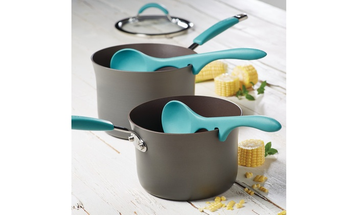 Rachael Ray Tools and Gadgets 2pc Lazy Spoon Set Agave Blue ...