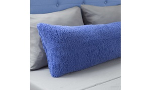 Warm Body Pillow Cover Soft Comfy Pillow Case Zippered Washable 52 x 18 inches B