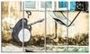 Penguin with RPG - Street Art Graffiti Metal Wall Art