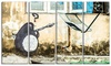 Penguin with RPG - Street Art Graffiti Canvas Print