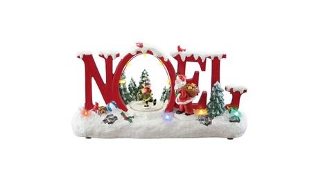 Animated Musical Noel Holiday Figurine, Red 7167444b-28f7-4ac6-a45c-484907b2f247