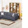Richie Two-Tone Two-Piece Sectional Sofa