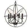 Industrial Vintage Lighting Ceiling Chandelier 5 Lights Metal Hanging