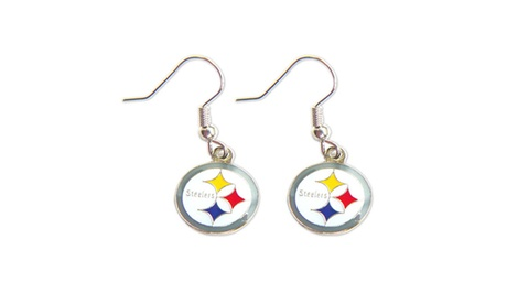 Pittsburgh Steelers Dangle Logo Earring Set Charm Gift 518c0a2d-ad69-496c-99c1-56da9caed7a7