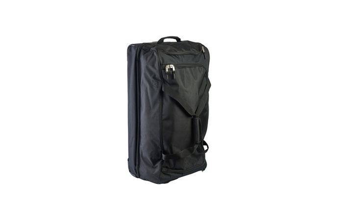 cfb4560f9302 U.S. Polo Assn 30in Deluxe Rolling Duffle Bag, Split Level Storage ...