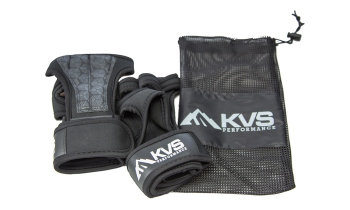 Cross Training Gloves / Wrist Wraps with Mesh Storage Bag | Groupon
