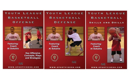 Youth League Basketball DVD Set 779b9f8b-93bc-433d-971c-d9879c166e77