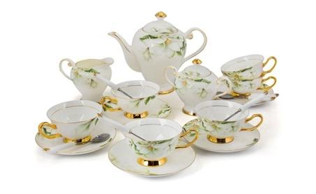 Porcelain Tea Cup and Saucer Coffee Cup Set TC-MLH 6f48d5a1-b56f-4347-b195-ef359b66a52c