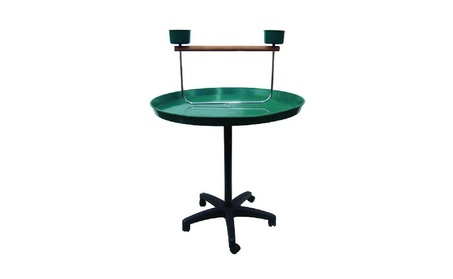 "Yml Indoor Bird Play Stand 36"" Parrot Stand In Green Medium 17eb3d96-ea1c-4f3f-ade6-50725004ff36"