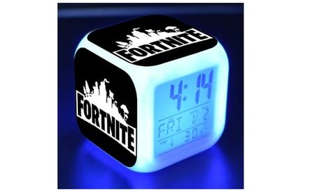 Fortnite 3D Night Lamp Alarm Clock