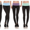Ladies 5-Pack Fold Over Active Leggings