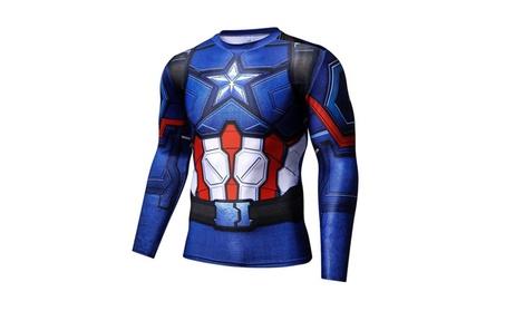 Men's Compression Long Sleeves Activewear Sports T shirt 186d9a54-d965-44a7-8fe7-f5c5595e1488