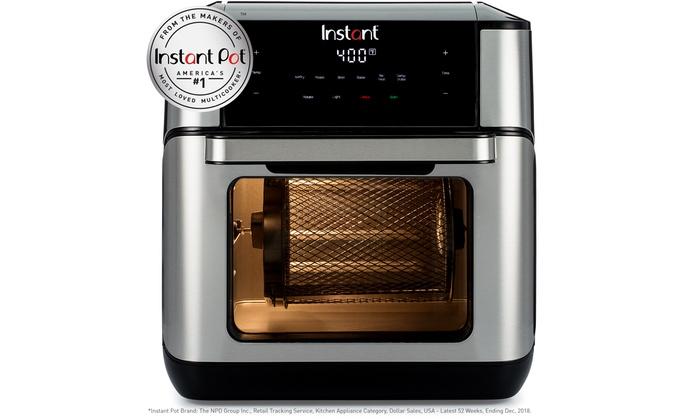 Instant Vortex Plus 10qt 7 In 1 Digital Air Fryer Oven Groupon