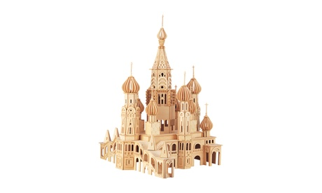 St. Petersburg Church Wooden Puzzle a1cb0541-4ae6-4a53-8654-3b3953f70bb3