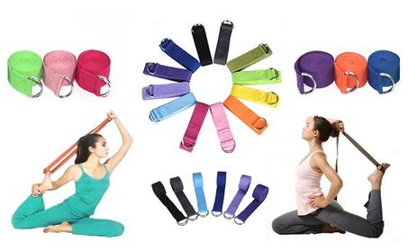 180CM Sport Yoga Stretch Strap D-Ring Belt Gym Leg Fitness Adjustable abfe3e29-10ee-4949-8562-b7e7f6360d86