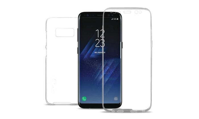 hot sales b5e95 cbd89 Samsung Galaxy S8 Plus 360 Degree Full Protection Clear TPU Case