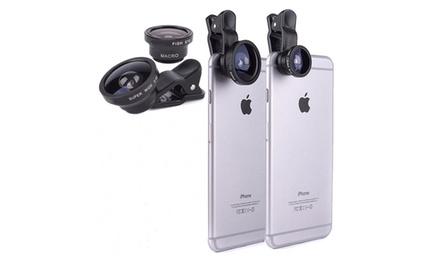 Set di 3 lenti per smartphone