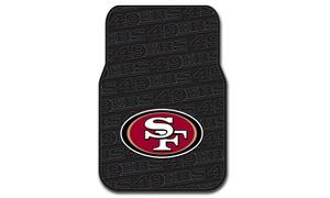 Northwest 1NFL-34300-0013-RET San Francisco 49ers NFL Front Floor Mat