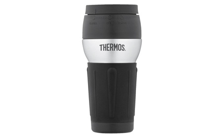 Thermos Stainless Steel 14 Ounce Travel Tumbler with 360 Degree Lid 901502dd-5a06-4c98-8661-640757fc43a7