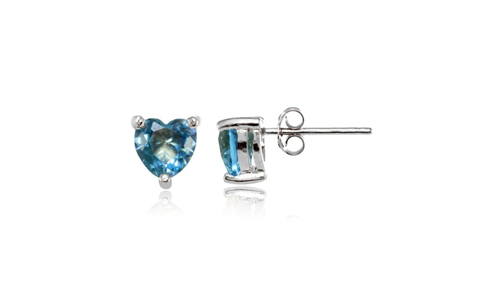 e24e39627 Up To 30% Off on Sterling Silver Simulated Blu...   Groupon Goods