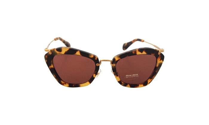 MU 10NS 7S00A0 - Yellow Havana for Women - 55-24-140 mm Sunglasses