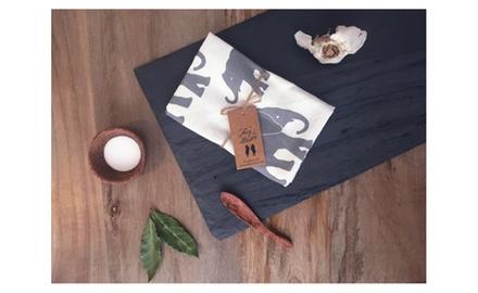 Grey Elephant Organic Kitchen Towel