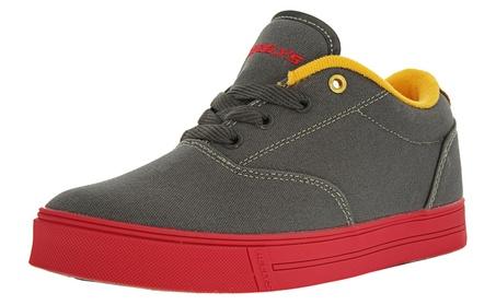 Heely's Kid's Unisex Launch Sneakers 305d7a4d-8586-4c51-8173-2e902e6ff374