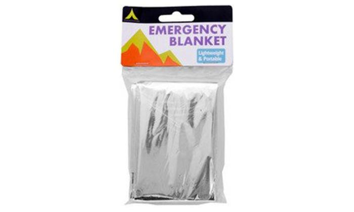 Emergency Blanket (Pack of 6)
