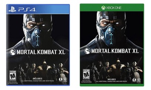 Mortal Kombat XL for Xbox One and PlayStation 4
